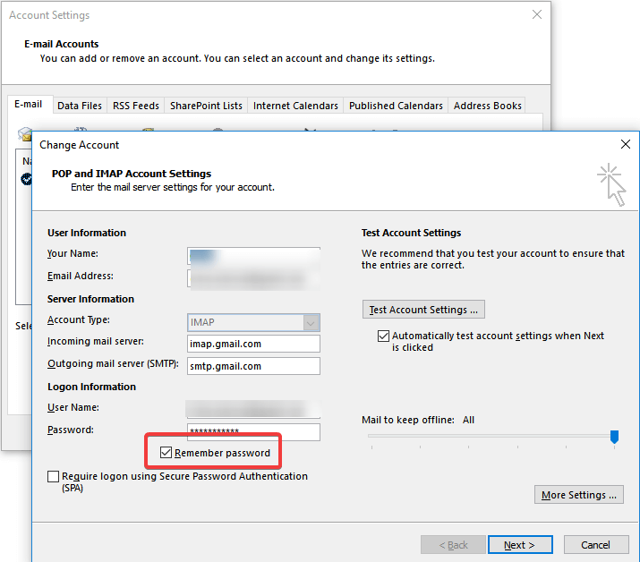 remember-password-outlook