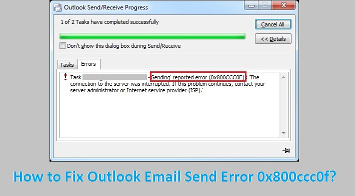 Outlook-Email-Send-Error-0x800ccc0f