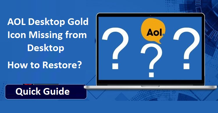 AOL-Desktop-Gold-Icon-Missing