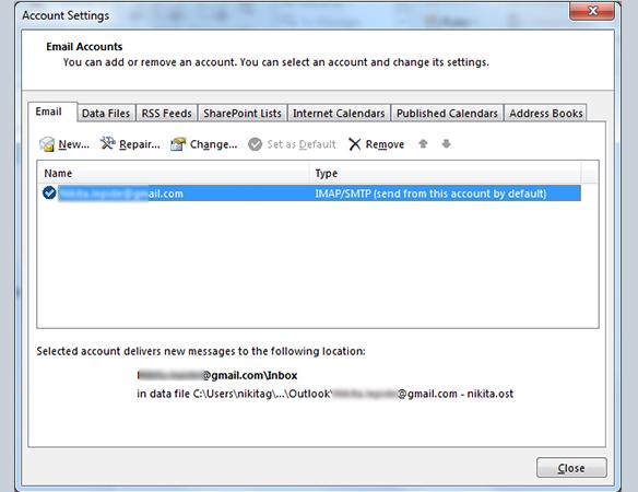 SMTP requires authentication