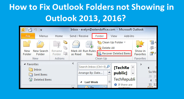 Outlook-Folders-not-Showing