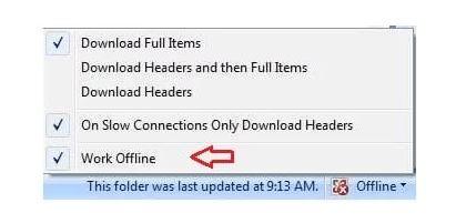 outlook-offline