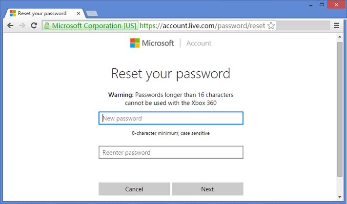 Reset-Microsoft-Account-Password
